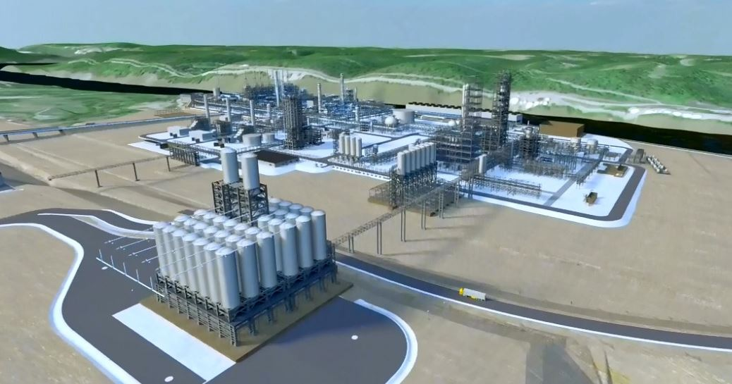 Shell Cracker Plant