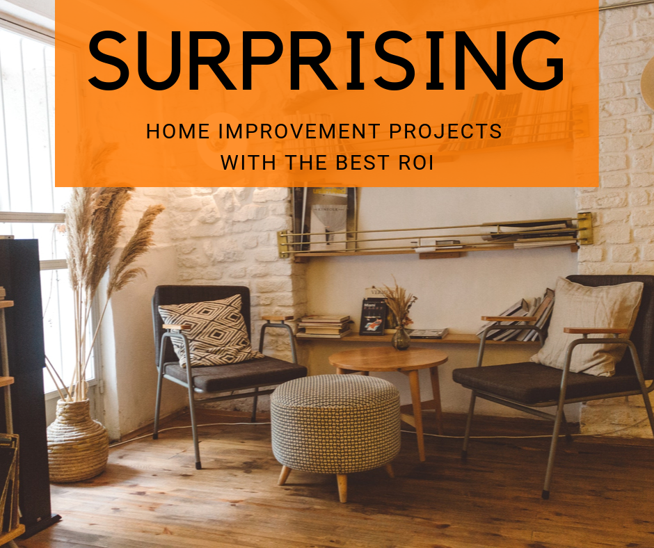 Surprising Home Improvement Projects With The Best ROI