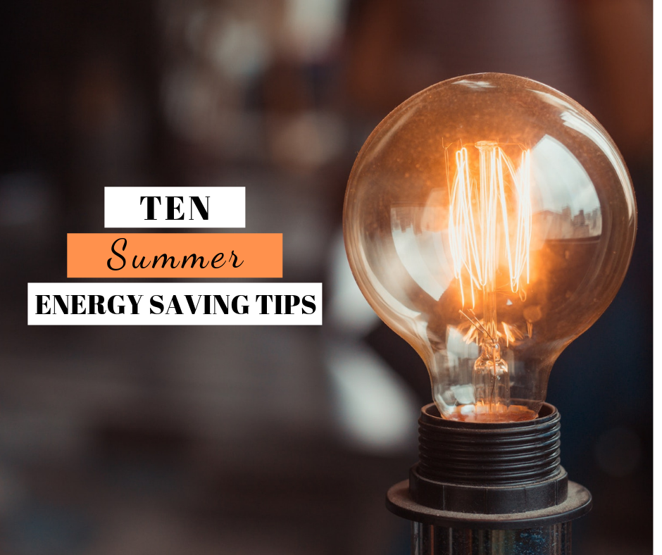 Ten Summer Energy Saving Tips