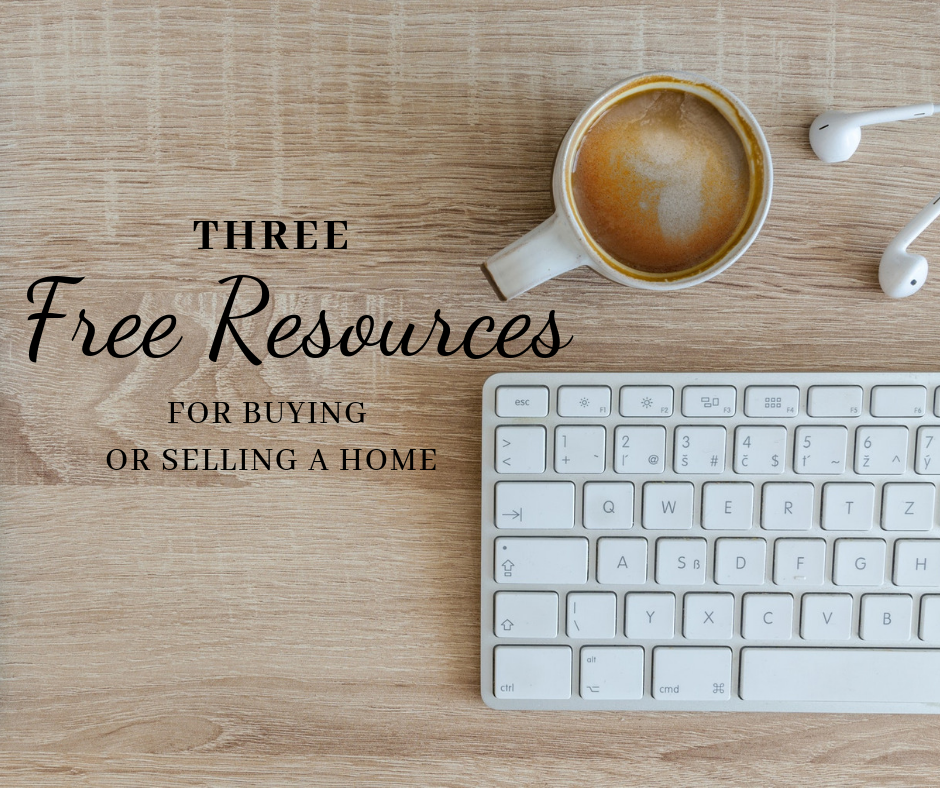 Three free resources for buying or selling a home